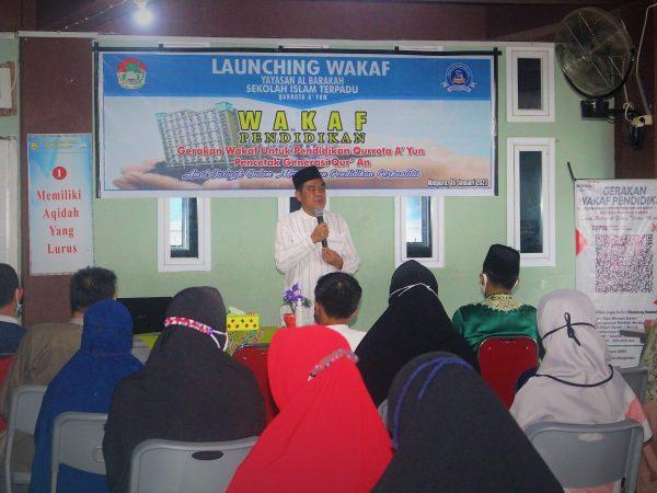 Launching Wakaf Pendidikan SIT Qurrota A'yun Abepura Kota Jayapura Papua