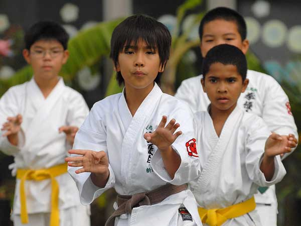 Runner Up Kejuaraan Karate Tahunan
