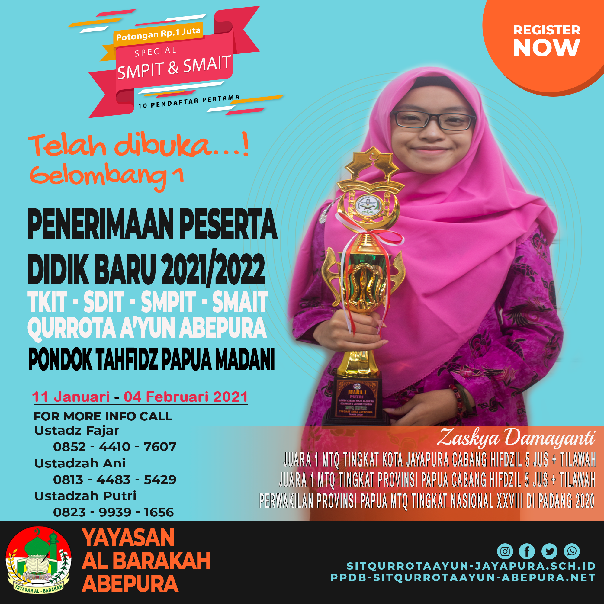 7 Day Left Gelombang 1 PPDB 2021